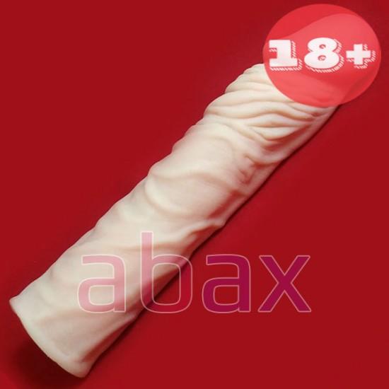 Realistik Uzatmalı Kalınlaştırıcı Prezervatif
